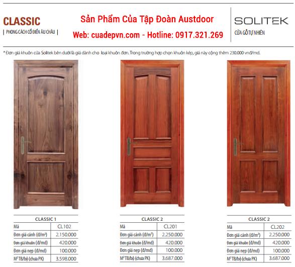 Solitek1 - Cửa gỗ SOLITEK Classic 204